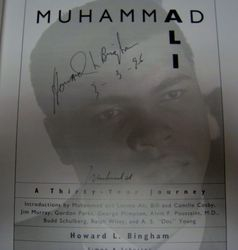 Muhammad Ali Signed A Thirty Year Journey