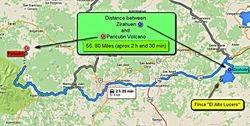 Zirahuen - Paricutin Volcano
