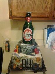 Vex Bottle Cake