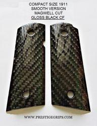 COMPACT 1911 SMOOTH MAGWELL CUT BLACK CF