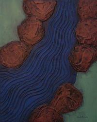 Stoney Brook, Acrylic, 16x20, Original Available
