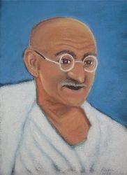 Ghandi by Rachel Auton