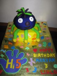 CAKE 8A2- Hi-5 Jup Jup Cake