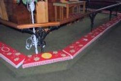 Communion rail kneelers
