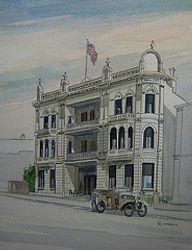 Grand Hotel Auckland c1910