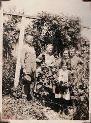 Frank Cunningham Family