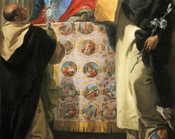 Tiepolo, Madonna of the Rosary with Saints Dominic and  Hyacinth, 1730-35, Chicago