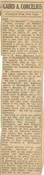 Corcelius, Gaird A. 1941 - Part 2