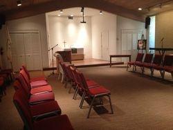 Newly renovated Chapel