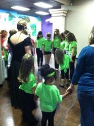 Prayer before Pageant