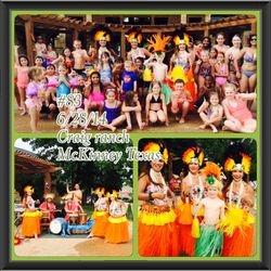 Graduation hula show