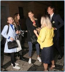 Tomas and Ester Berdych Satorova