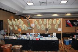 Jim Alred Supply Booth