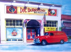 Doc Bernstein's Ice Cream Lab and Big Red