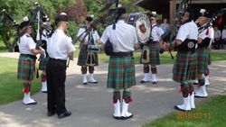 The Pipes and Drums of Manitoba