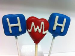Hospital Cake Pops