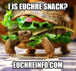 I is Euchre snack?