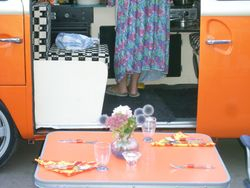 Cooking in a Camper