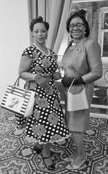 Sandra with Audreia Joseph