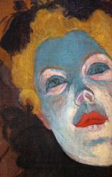 Lautrec, Moulin Rouge, detail, Chicago