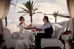 The romantic dinner