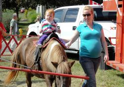 Pony Rides in the Children's Area