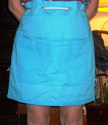Gardening aprons with pockets -SOLD