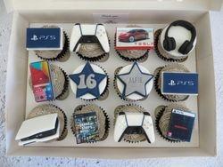 16th Birthday Personalised Cupcakes