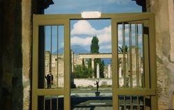 375 Entrance to Roman House Pompei