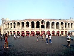 Arena di Verona, Verona, Italy, 2013.