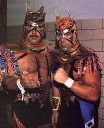 Roller ball Rocco and Dean Malenko