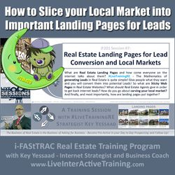 How to Slice your Local Market into Important Landing Pages for Leads - iF201-07 Apr 2020 - #LiveTrainingRE