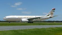 Etihad Airbus A330-200 A6-EYD