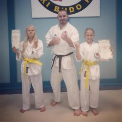 Twin Yellow belts!