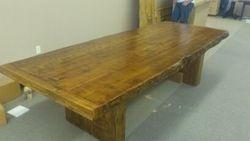 conference cedar table 10'X4'