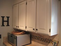 cabinet re-finish