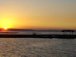 Sunset in Al Ahyiaa