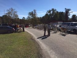 View of the tailgate