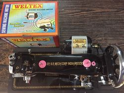 Weltex 1/12 Hp Sewing Machine Motor