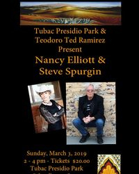 Poster for the Tubac Show with Steve