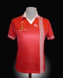 Admiral Match Worn Aberdeen Cup Final Shirt