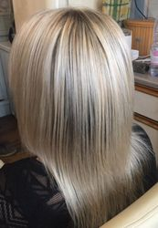 Blonde T Section of highlights