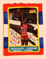 """Member Michael Jordan's Rookie Card"""