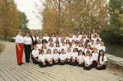 Concert & Apprentice Choirs 2008 - 2009- 13th Season Photo