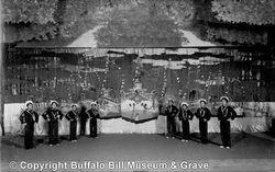 Japanese Performers Buffalo Bill Show