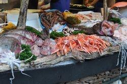 Seafood Display, Borough Market