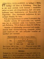 Hotell Kullaberg 1925