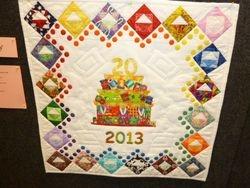 Celebrating 20 Years by Joyce Torrance.