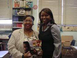 Author Diane Dorce' & Rose