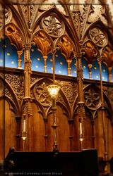 Winchester Cathedral Choir Stalls